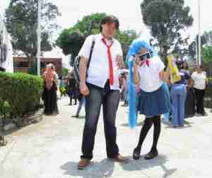 Otaku cosplayers in Guatemala