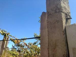 Lone wall in Mixco Guatemala