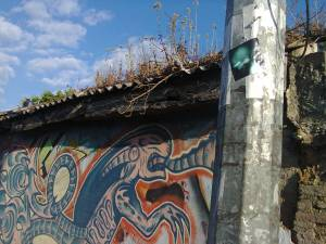 street art and grafitti in Guatemala City
