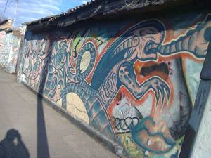 zona 2 Guatemala City street art grafitti photo by Duffboy