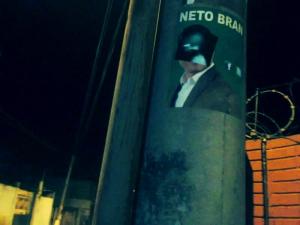 Ciudad de Pobres Corazones public intervention by Duffboy