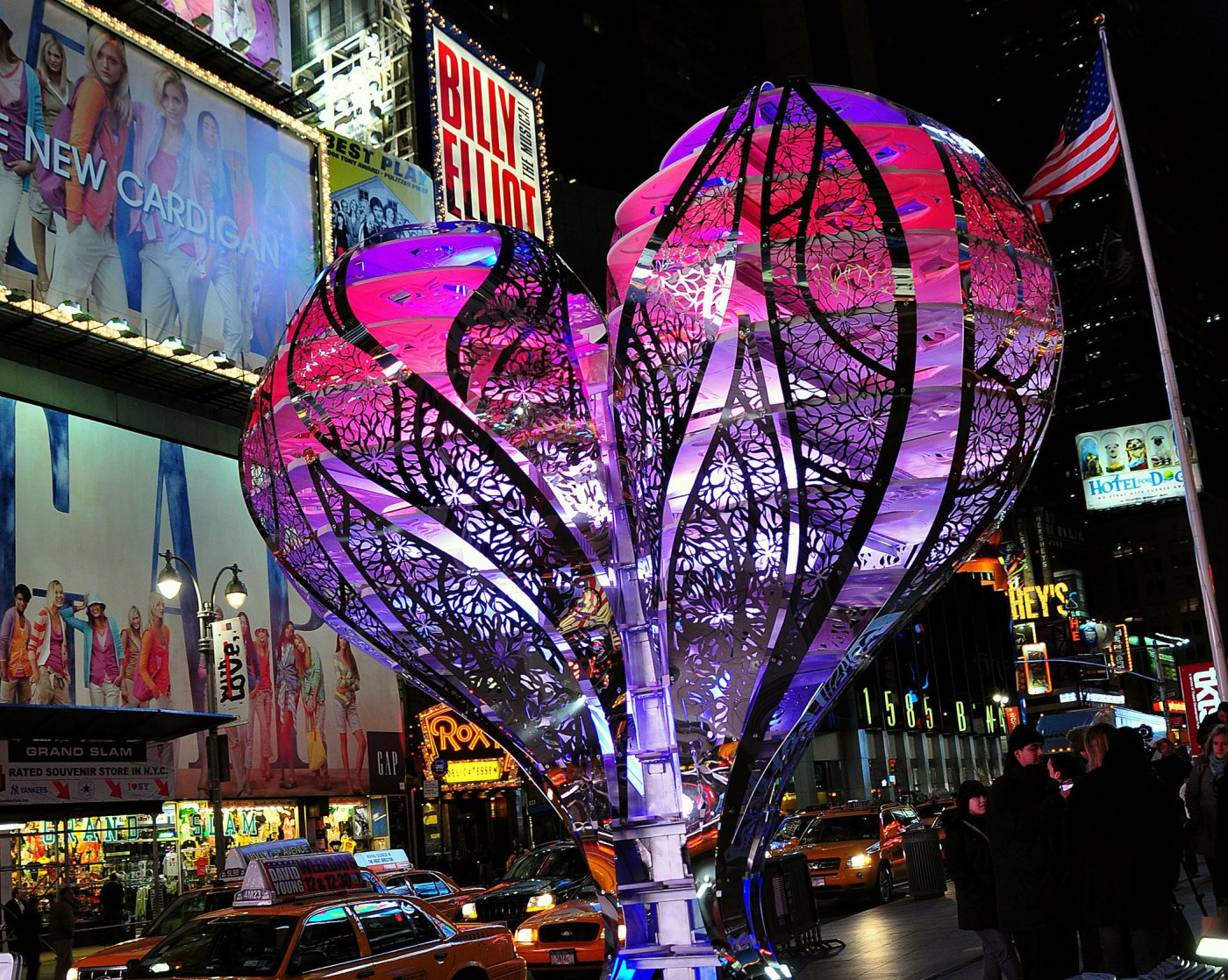 "2009: ""Valentine to Times Square"" by Gage / Clemenceau Architects"