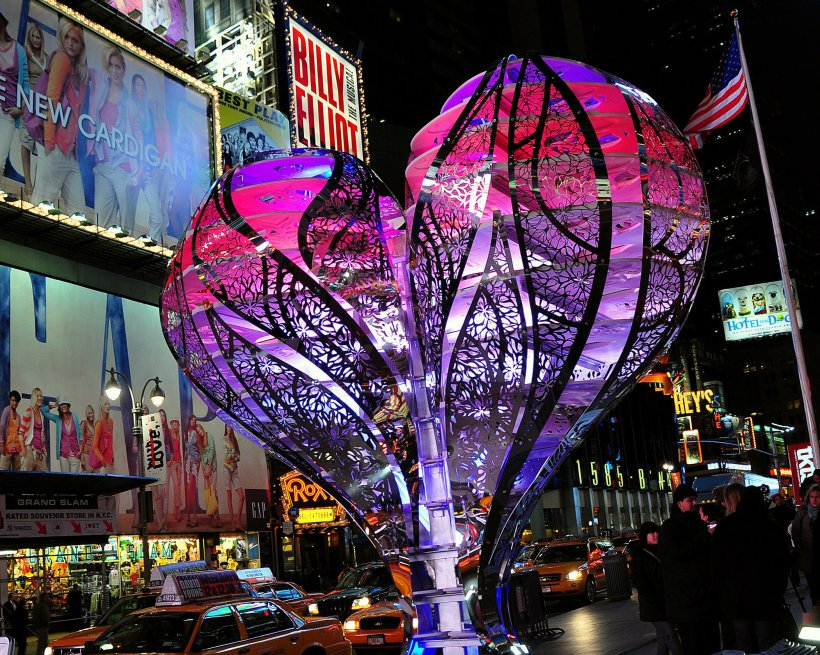 """2009: """"Valentine to Times Square"""" by Gage / Clemenceau Architects"""