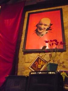 artwork from an Antigua Guatemala restaurant